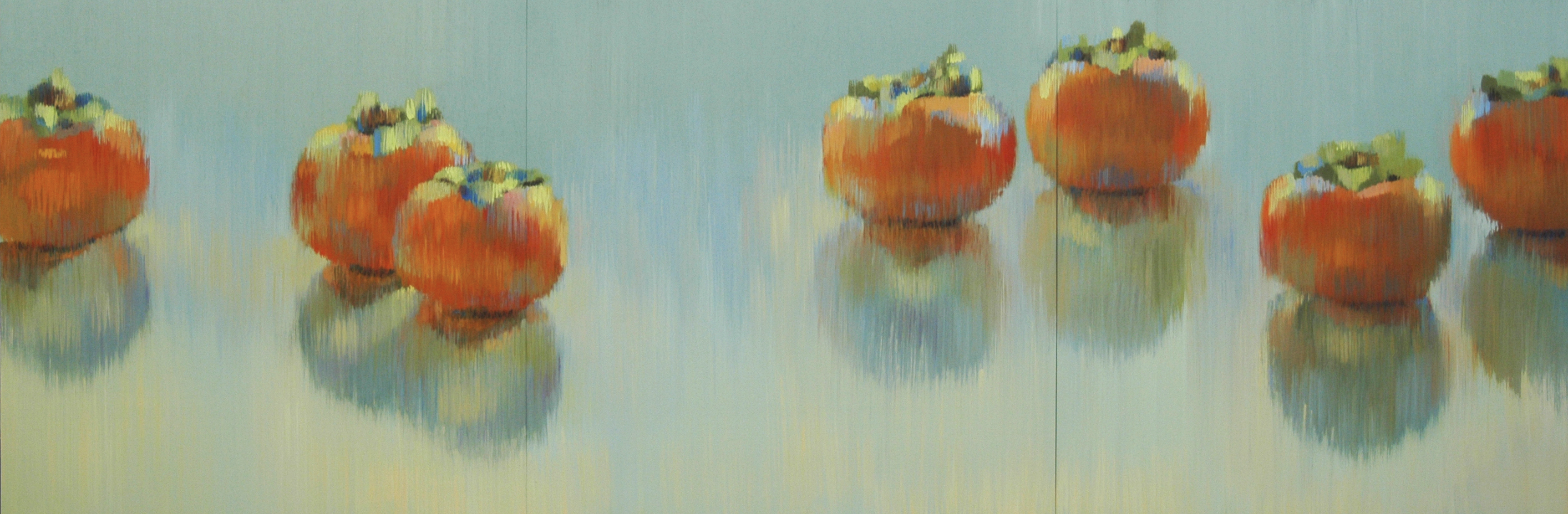Persimmons 72x24